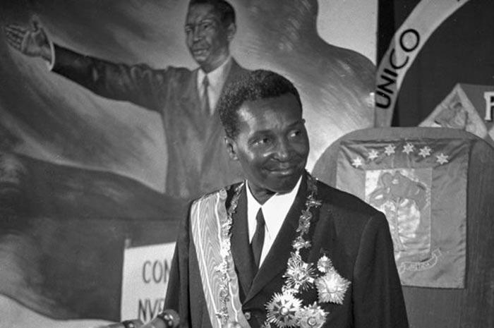 Франсииско Масиас Нгема на III съезде Единой национальной партии трудящихся
