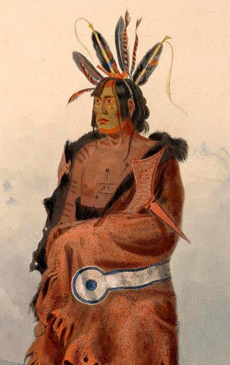 Воин из племени Арикара