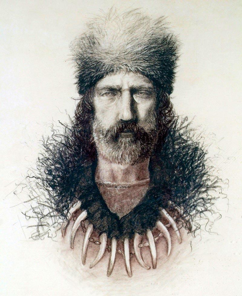Американский охотник и горный проводник Хью Гласс
