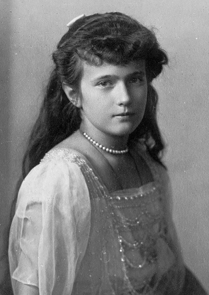 Княжна Анастасия Романова