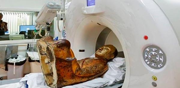 Томография древней мумии буддийского монаха