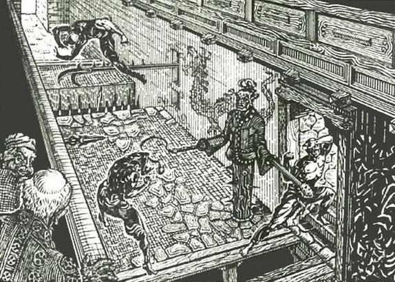 Коридор смерти в Шаолинь