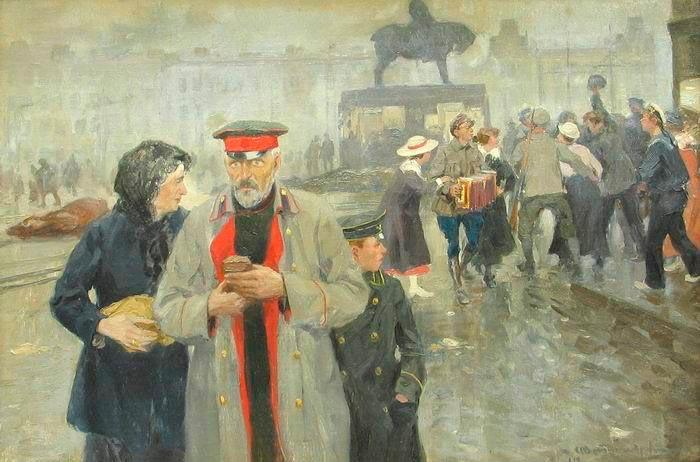 Картина «Лишенцы». И. Владимирова
