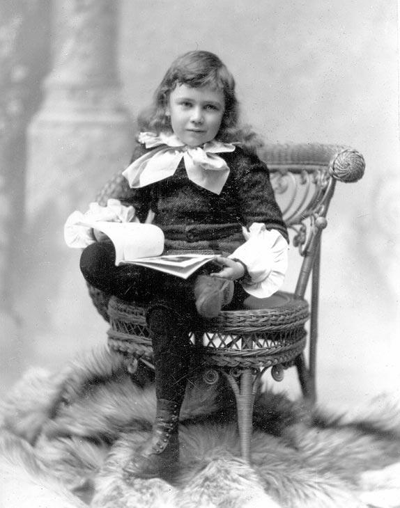Костюм мальчика, 19 век.