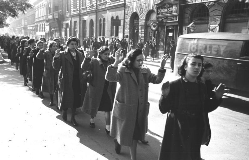 Массовые аресты евреев в Будапеште, октябрь 1944 года