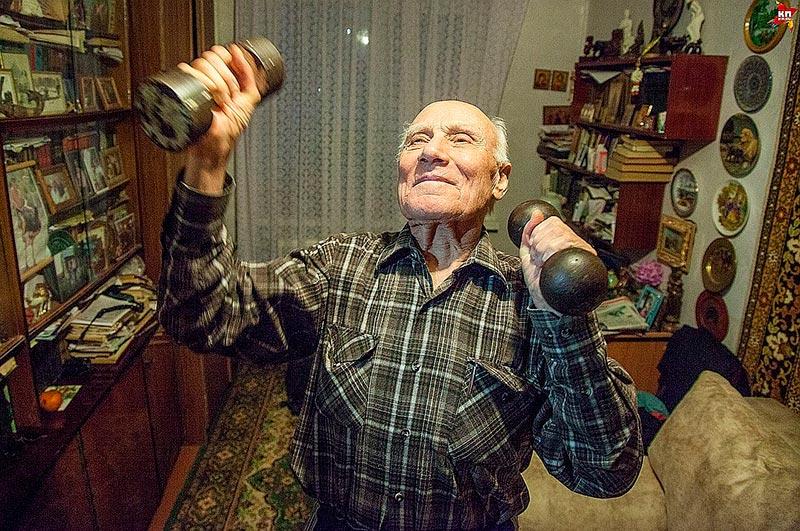 Студент-пенсионер Кирилл Патрахин.