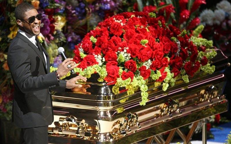 Церемония прощания с Майклом Джексоном