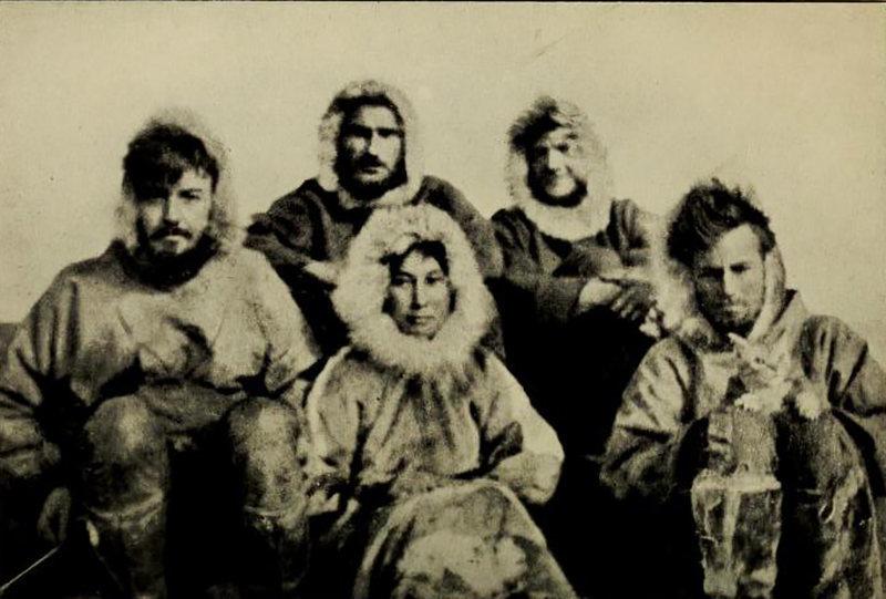 Ада Блекджек и остальные члены экспедиции