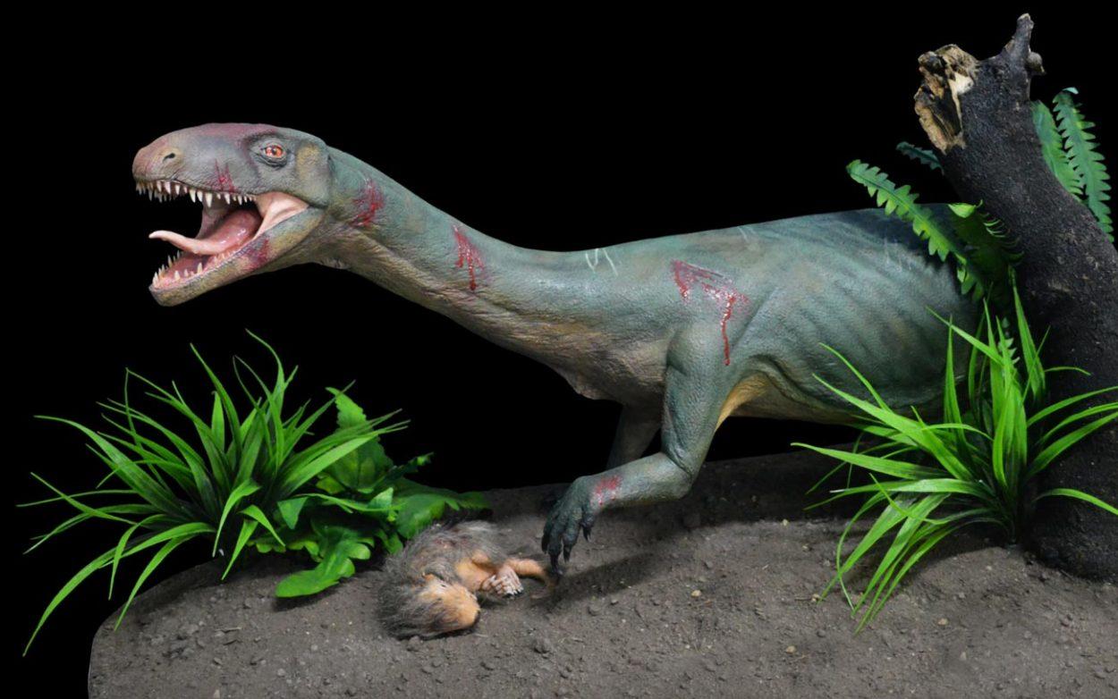 Реконструкция внешнего вида динозавра