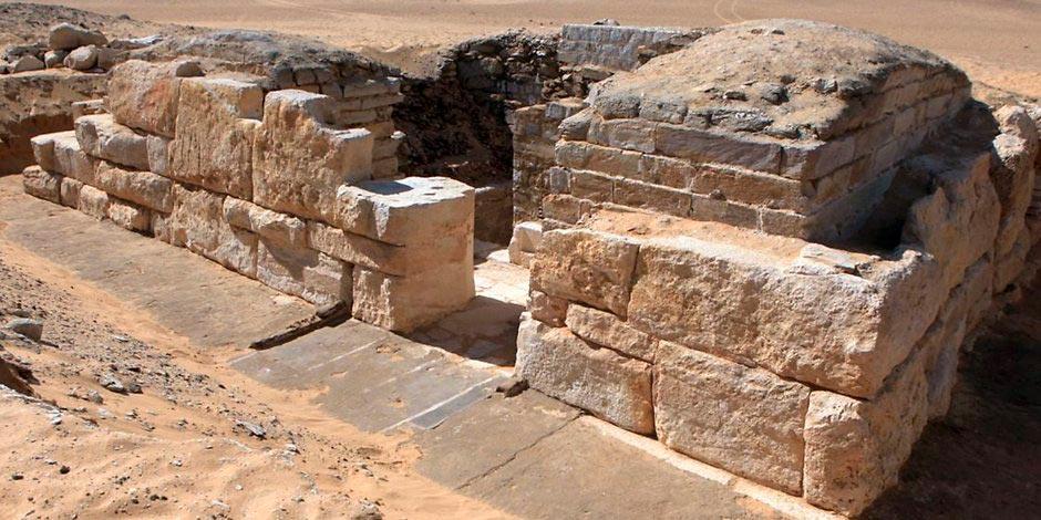 Королевская гробница в Луксоре, Египет.
