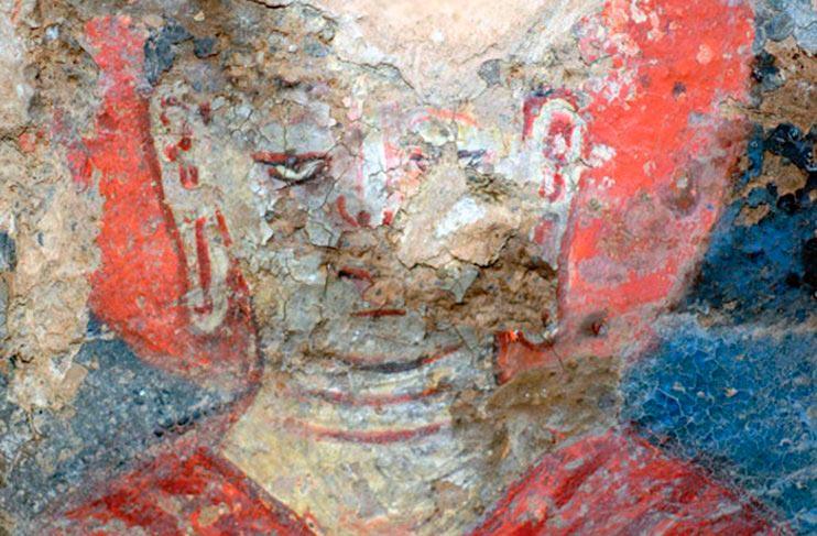 Самая старая картина, написанная масляными красками