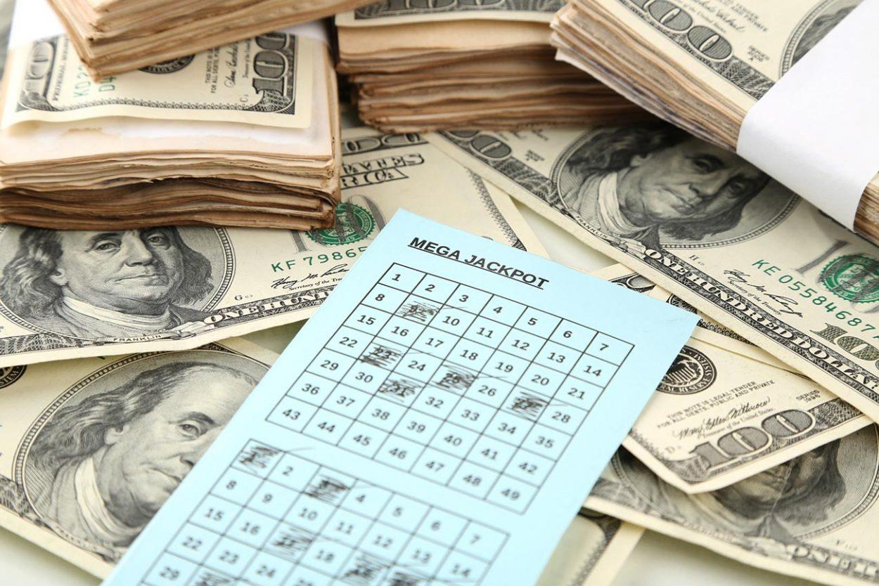 Выигрыш в лотерею и счастливый билет