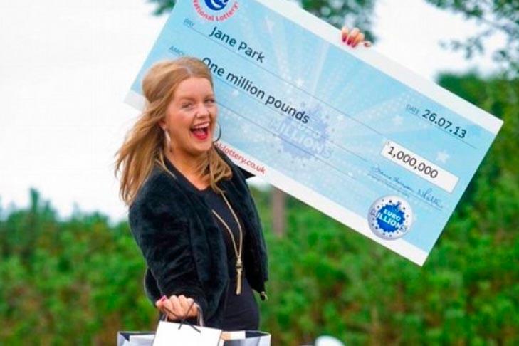 Джейн Паркс и сертификат на один миллион фунтов