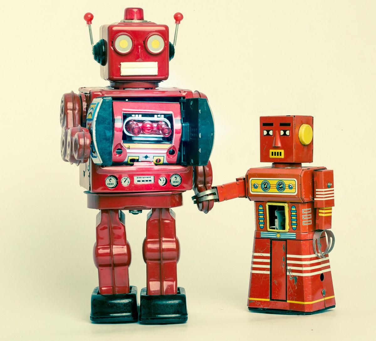 Игрушечные роботы
