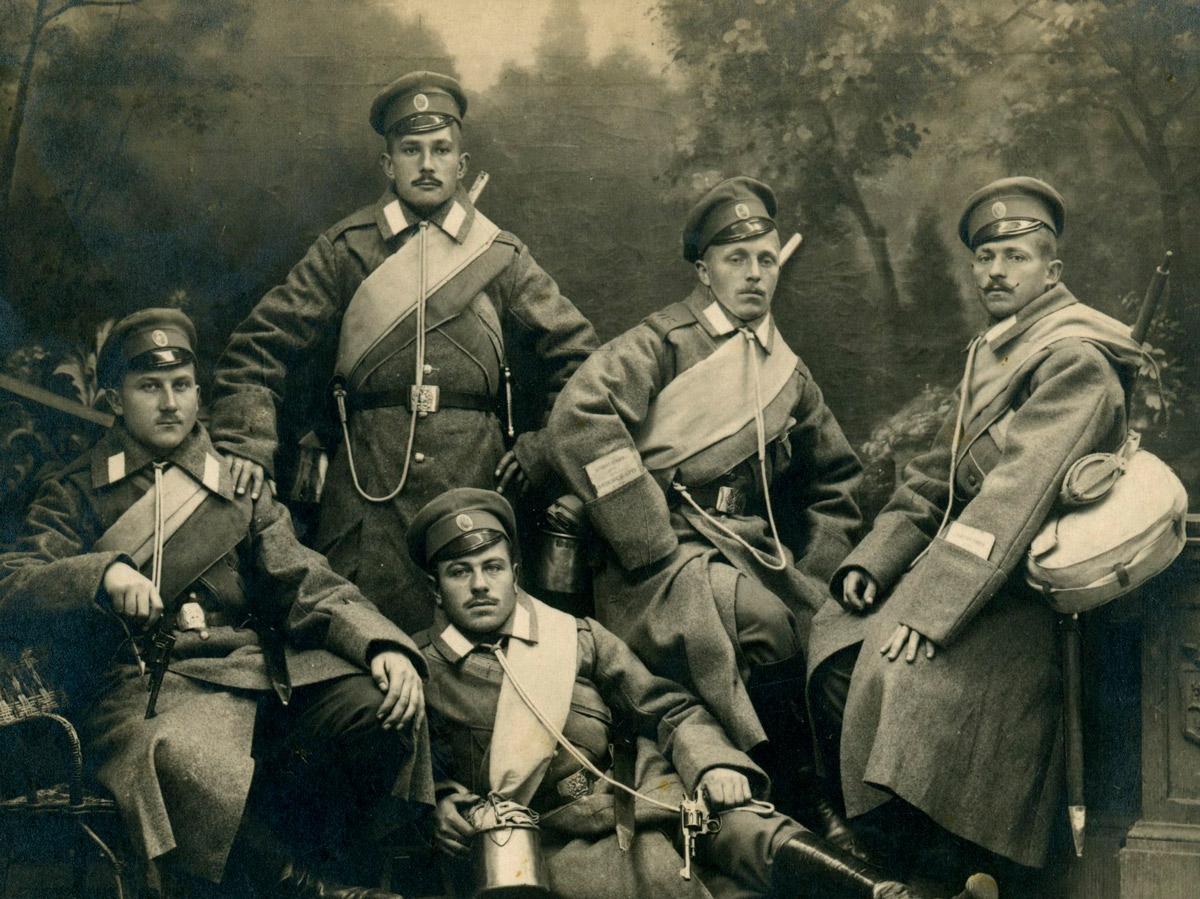 Солдаты Оренбургского казачьего полка