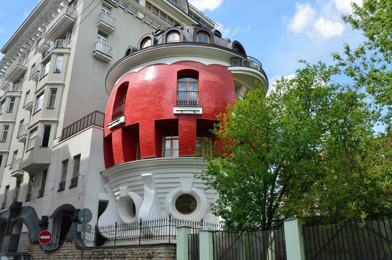 Дом-яйцо на улице Машкова, г. Москва