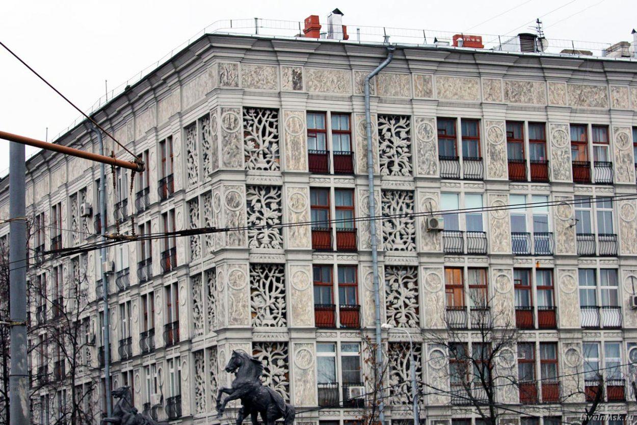 «Ажурный дом» на Ленинградском проспекте, г. Москва.