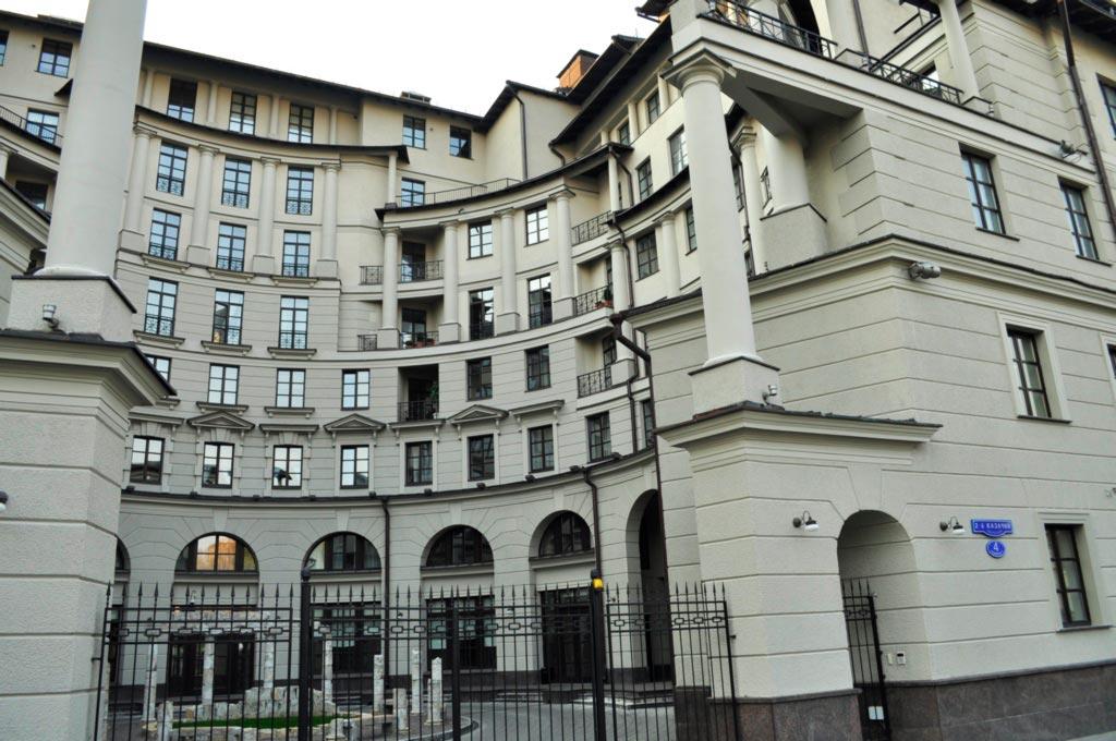 «Римский дом» во 2-м Казачьем переулке, г. Москва