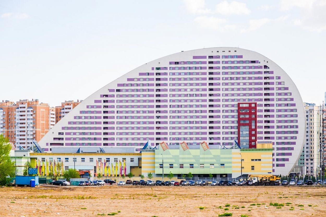 Дом «Парус» на Ходынском поле, г. Москва