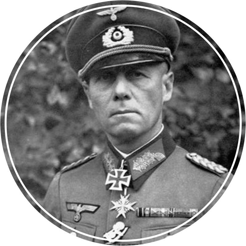 Немецкий генерал Эрвин Роммель