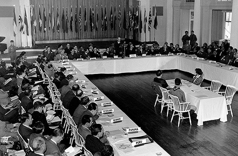 Конференции в Бреттон-Вудсе, 1944 год