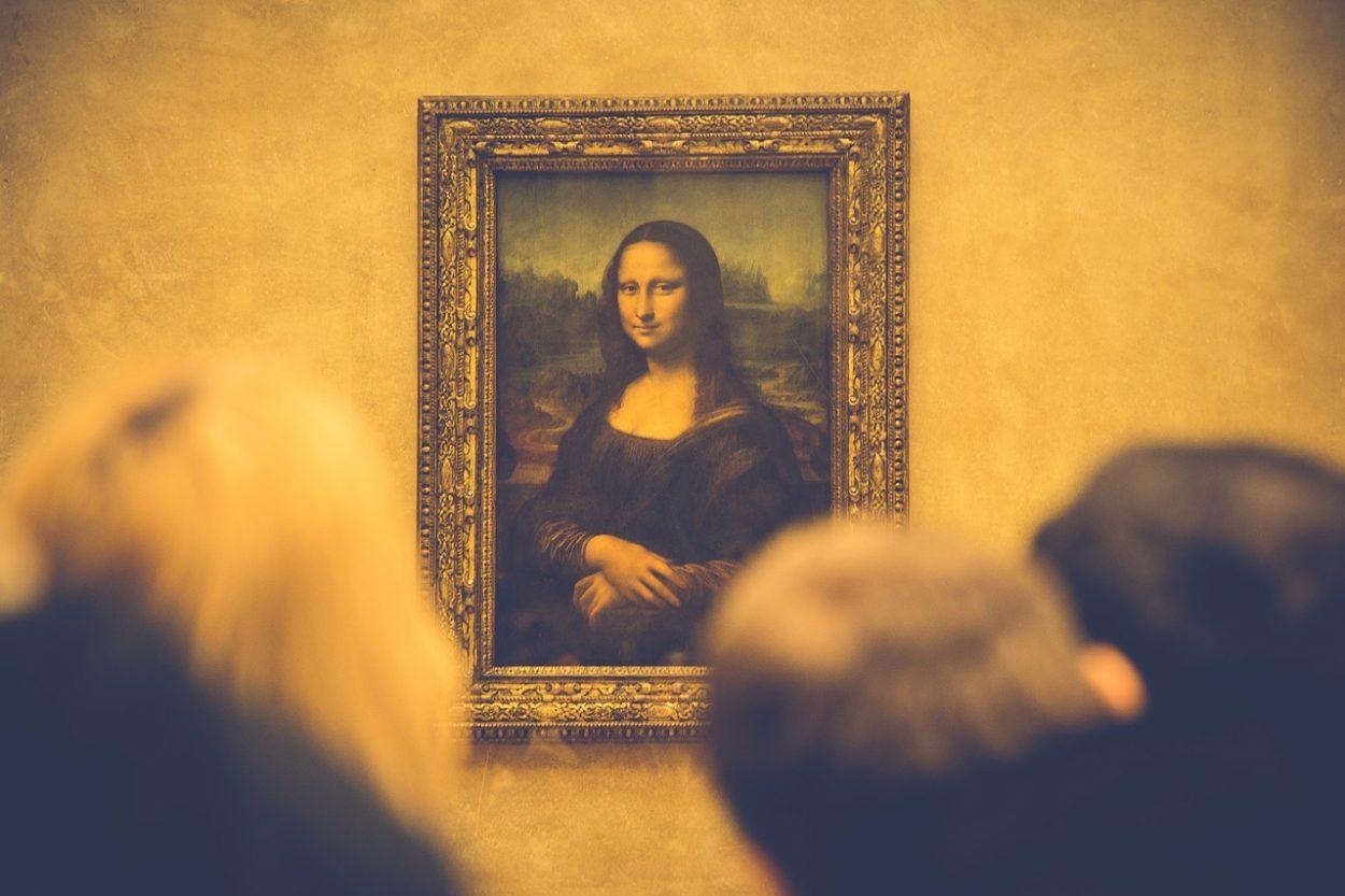 Мона Лизы в Лувре