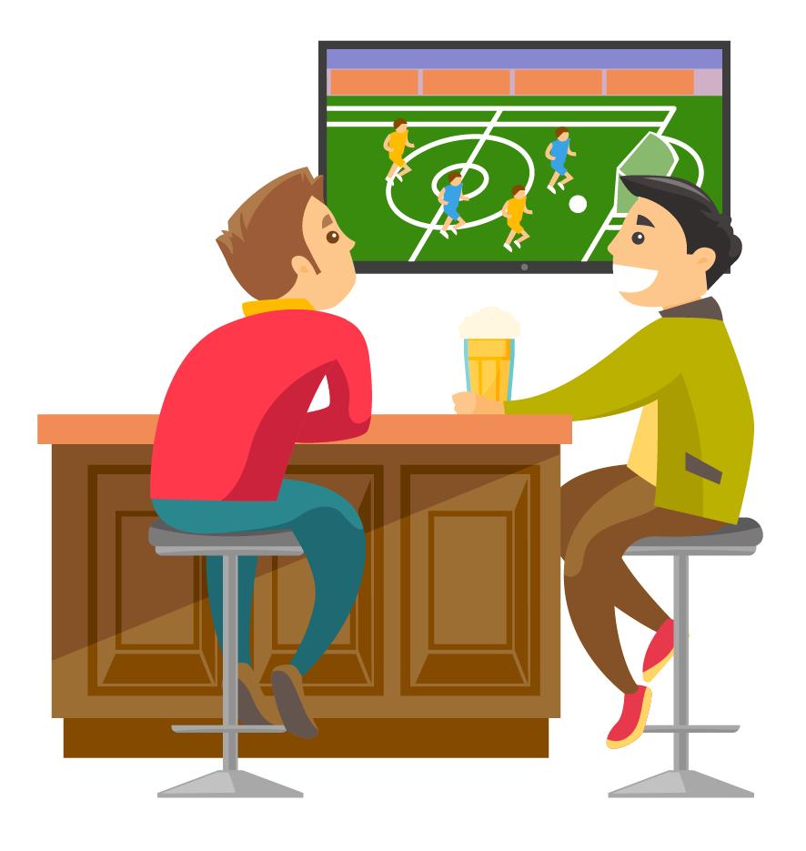 Анекдот про футбольного фаната иего жену