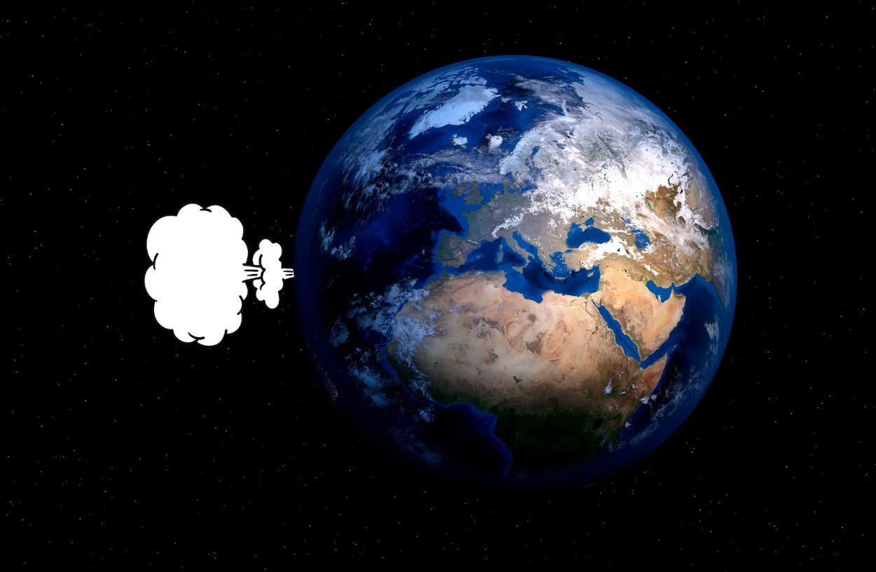 Засвою историю человечество пукнуло 17квадриллионов раз