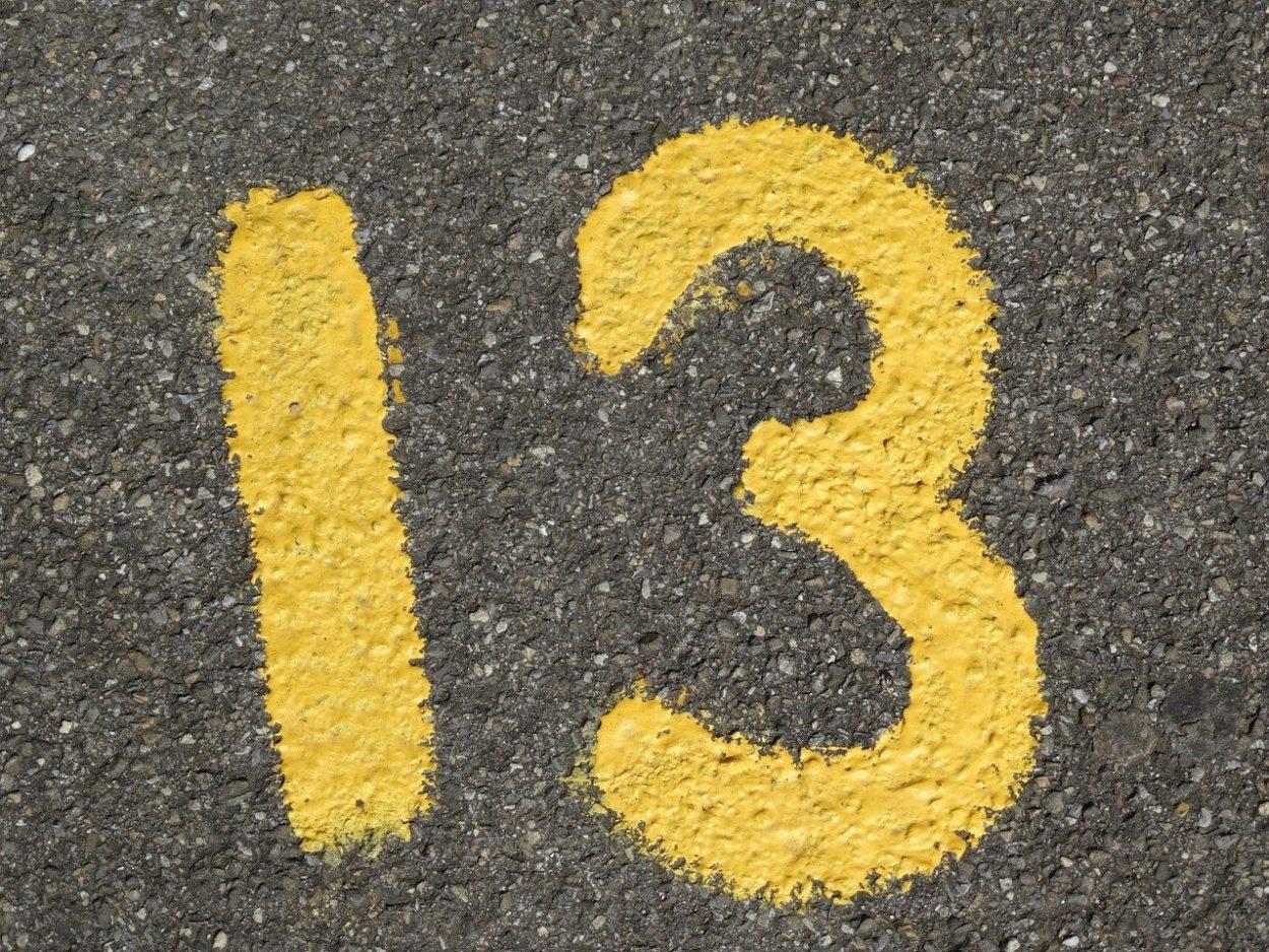 Почему люди боятся числа13?