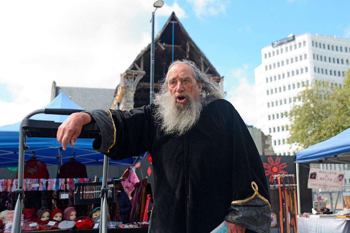 ВНовой Зеландии есть должность Волшебника страны