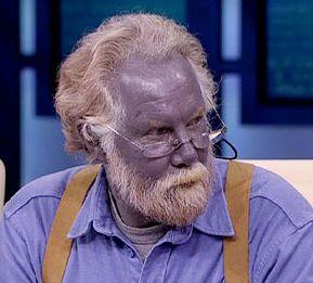 В Калифорнии живёт человек синего цвета