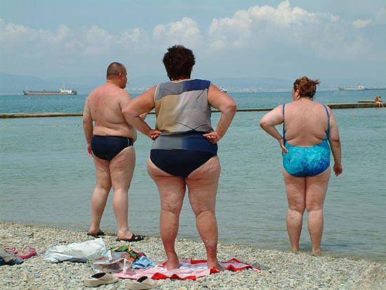 Больше половины россиян имеет избыточный вес, четверть страдает ожирением
