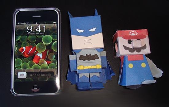 В Тайване производят бумажные Айфоны