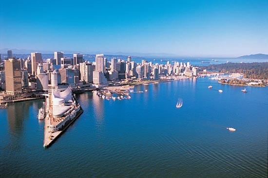Лучший по качеству жизни город в мире — это Ванкувер (Канада)