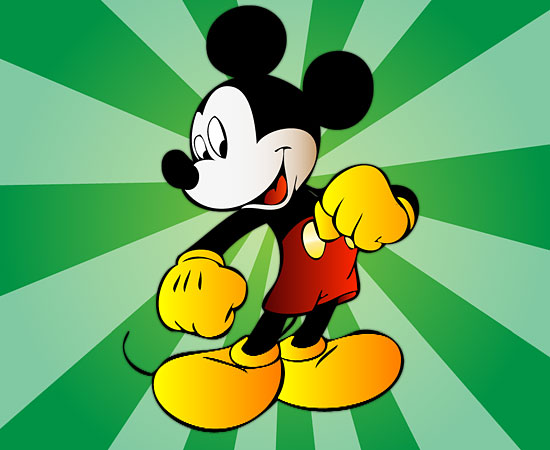 Независимо от того, под каким углом вы смотрите на Микки Мауса, его уши всегда будут круглыми