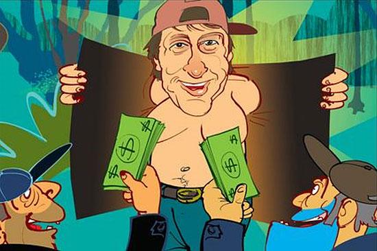 Канадец Брайан Зембик — это «Мужчина с грудью, стоимостью 100 тысяч долларов США».