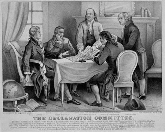 Америка получила независимость 4 июля 1776 года