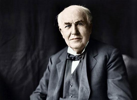 Эдисон изобрел электрическую лампочку