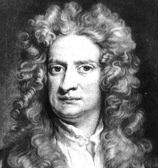 На голову Ньютона упало яблоко