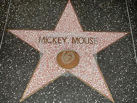 Звезда Микки Маусу