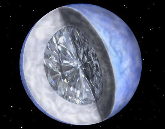 Самый большой из известных алмазов имеет размер десять миллиардов триллионов триллионов карат