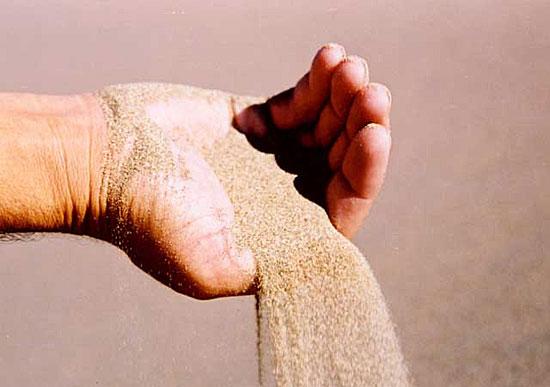 На Земле заканчивается... песок