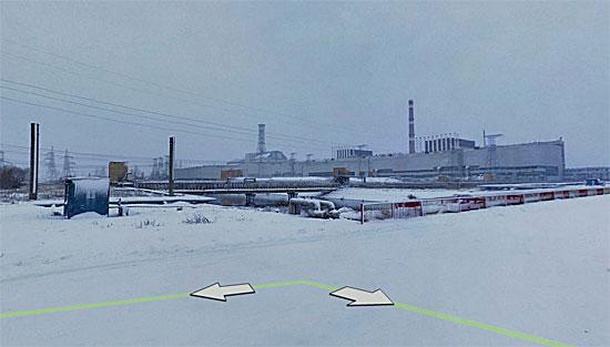 По заброшенному атомограду Припять можно «прогуляться» на Яндексе