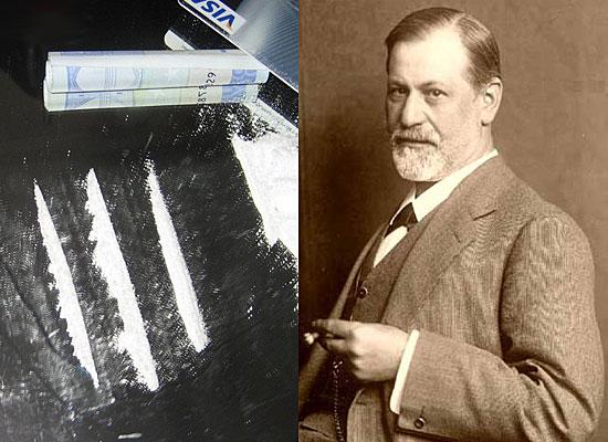 Зигмунд Фрейд — кокаин
