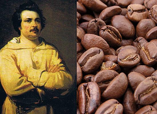 Бальзак – кофеин