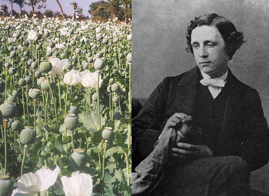 Льюис Кэрролл – опиум