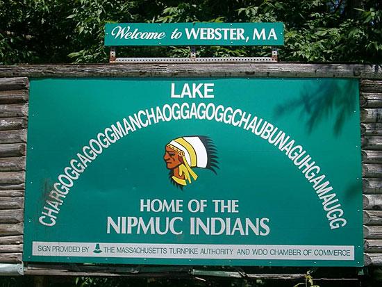 В США есть озеро под названием Chargoggagoggmanchauggagoggchaubunagunamaugg