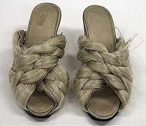 В Тайване есть парикмахерская, в которой делают обувь из человеческих волос