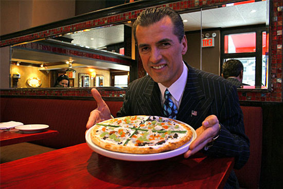 Самая дорогая пицца в мире стоит $1000