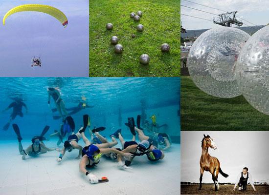 6 забавных и необычных видов спорта